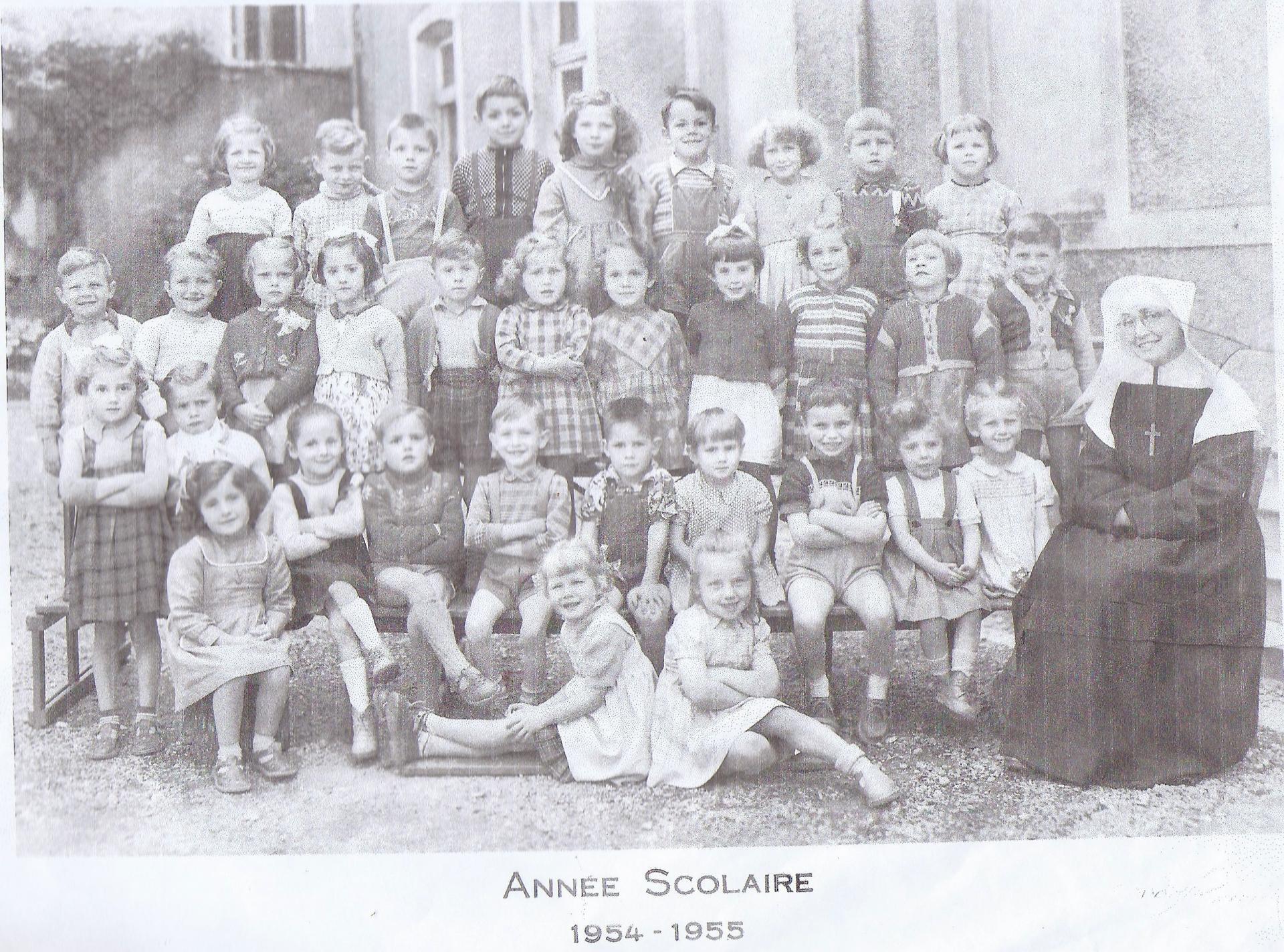 Anne e scolaire 1954 1955