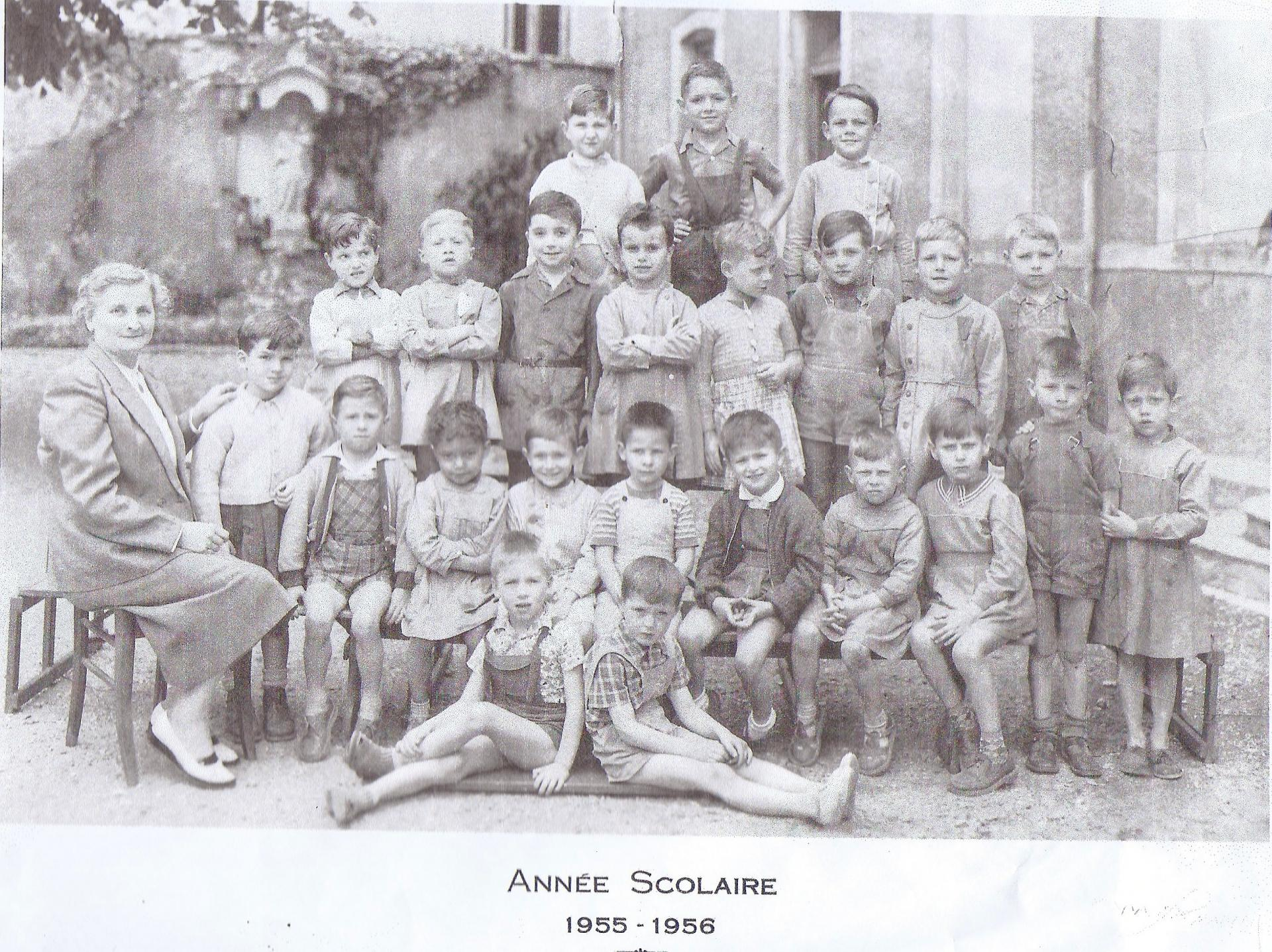 Annee scolaire 1955 1956